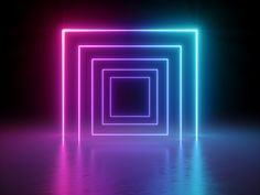render glowing lines tunnel neon lights virtual reality abstract background square portal arch pink blue spectrum vibrant colors laser show Textured Background, Background Images, Neon Stock, Laser Show, Psy Art, Neon Lighting, Lighting Design, Lighting Ideas, Light Installation