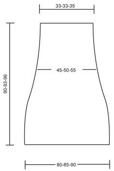 """Robin - Poncho DROPS de punto, con cuello amplio en """"Alpaca Bouclé"""". Talla: S-XL. - Free pattern by DROPS Design"""