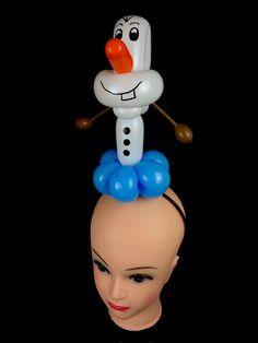 Olaf Balloon - Headband Balloon