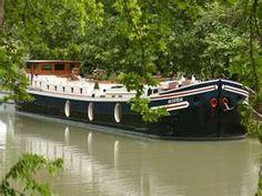 French river barging