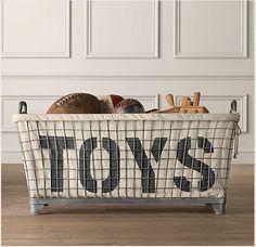 cool toy bin
