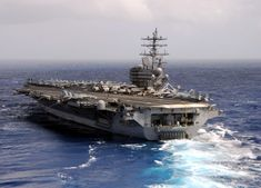 Uss Ronald Reagan, Navy Aircraft Carrier, Military Equipment, Submarines, Us Navy, Usmc, Sailing Ships, Alabama, Wwii