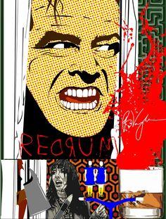 THE SHINING Horror Art, Horror Movies, Stephen King Movies, Thriller Film, The Shining, Skulls, Movie Tv, Paradise, Assassin