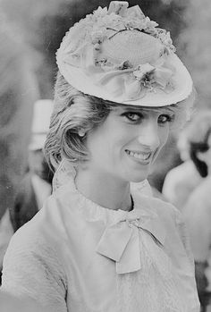 """""The Princess of Wales attends a Klondike Barbecue at Fort Edmonton on Day 16 of The Royal Tour of Canada on June 29, 1983."" """