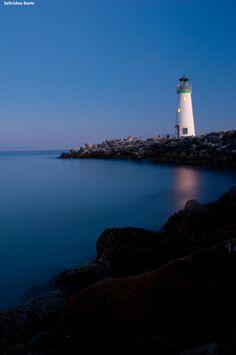 Walton Light House, Santa Cruz, CA by Saikrishna Ganta, via 500px