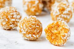 5-ingredient apricot energy balls
