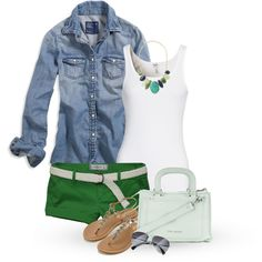 A fashion look from June 2014 featuring American Eagle Outfitters blouses, Splendid tops and Abercrombie & Fitch shorts. Browse and shop related looks.