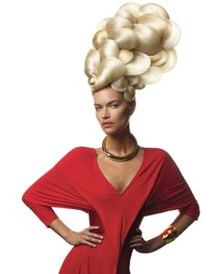 Style: Aquage, Hair: Ann Bray for Aquage, Photo: Luis Alvarez for Aquage
