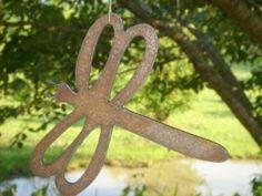 metal yard art!