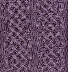 Ravelry: Celtic Braid Afghan Square pattern by Sarah Bradberry Cable Knitting Patterns, Knitting Charts, Knitting Stitches, Knit Patterns, Free Knitting, Stitch Patterns, Celtic Braid, Braid Patterns, Knitted Afghans