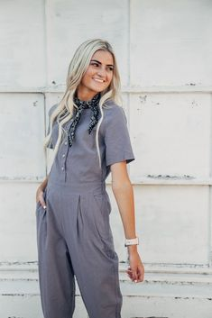9c0043bdf9fb The Day-trip Jumpsuit in Dusty Lavender. Jumpsuits For WomenBlack ...