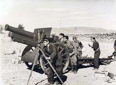 Artillería republicana en la  sierra - Portal Fuenterrebollo