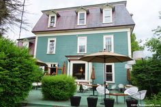 Auberge Le Pleasant - Sutton - MTL Travel: Rosé + Gourmet in the Eastern Townships   ManAboutMTL