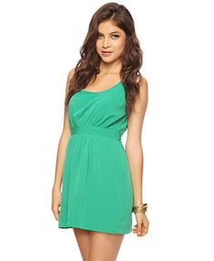 Forever21 Silky Self-Tie Dress