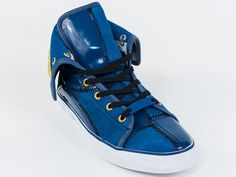New  Galliano Blue Shoes Size 38 US 5 Retail $440