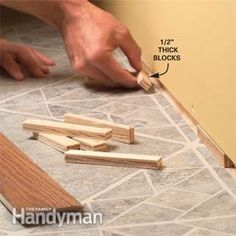 Wall molding: You can get perfectly tight joints and smooth, clean, professional results when installing baseboard trim, even on bad walls. Baseboard Molding, Floor Molding, Base Moulding, Wall Molding, Moldings And Trim, Shoe Molding, Wainscoting, Refinish Wood Floors, Laminate Flooring