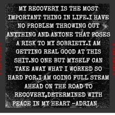 Is #recovery the most important thing in your life? Maybe it's time to make some changes @lighthouserecoveryinstitute #drugfree #sobriety 844-I-CAN-CHANGE www.lighthouserecoveryinstitute.com