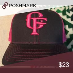 Cowboy Fresh hot pink cap brand new. fd4e50f851a