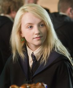 Luna Lovegood.  I love this girl!!! :)  Reminds me of me sometimes.  lol