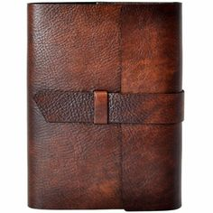 Max Latch Journal Handcrafted in Italian Leather  from Jenni Bick Bookbinding