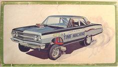 Time Machine 65 Chevelle Funny Car