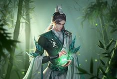Fantasy Art Men, Fantasy Warrior, Fantasy Inspiration, Character Design Inspiration, Anime Art Girl, Anime Guys, L5r, Chinese Man, Warrior Girl