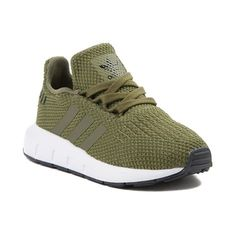 Toddler adidas Swift Run Athletic Shoe - green - 99436433 Toddler Boy Shoes, Baby Boy Shoes, Toddler Boy Outfits, Toddler Rompers, Baby Outfits, Alex Evans, Women's Shoes, Boys Shoes, Ladies Shoes