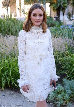 The Olivia Palermo Lookbook : Olivia Palermo At Paris Haute Couture Fashion Week