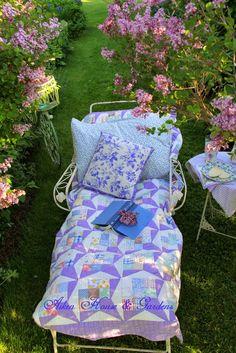 Aiken House & Gardens: Relaxing Under the Lilacs