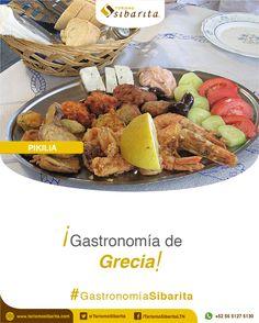 ¡Prueba la mejor gastronomía del mundo pidiendo tu Experiencia Sibarita! La Pikilia es un plato de entradas al estilo griego que seguro te encantará.