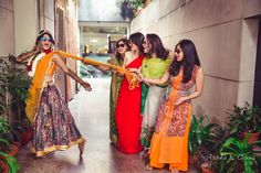 Chhod do aanchal zamana kya kahega. Wedding shenanigans. #Bridesmaid #bridesquad #squad #goals #indian #wedding #shenanigans #mehendi #fun #bride #wedzo #shaadi #pose #inspiration #picture