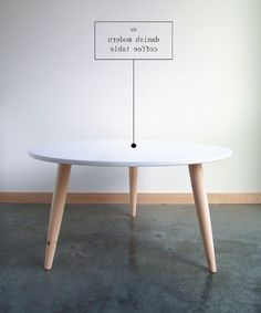 Diy Home Decor: Make this STUNNING DIY Danish Modern Coffee Table for a simple statement piece in your home decor. Diy Coffee Table, Modern Coffee Tables, Diy Table, Craft Tables, Game Tables, Dining Tables, Modern Table, Dining Sets, Modern Room