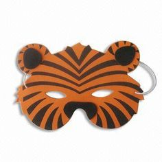 Halloween Mask/DIY Toy with Stripes, Customer's Logos are Accepted