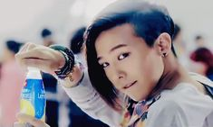G-Dragon in a lemonade commercial...? xD you know you like it