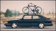 Saab 900 Turbo With Saab Roof Rack