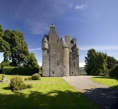 Barcaldine Castle  Benderloch  Near Oban  Argyll  West Coast Scotland