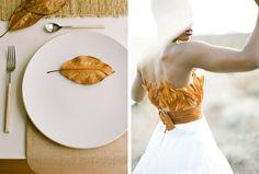 Rustic Orange Wedding I Coastal Bride