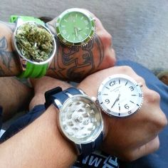 Dope grinder watches from www.shopstaywild.com