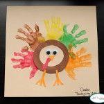 Handprint Thanksgiving Turkeys, lots of great ideas!!