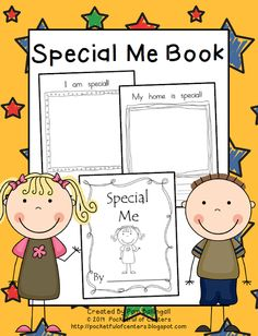 Special Me Book - Great for Back to School!  $3.00