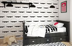 Check out our pick of the best toddler boy bedroom themes of 2018 (so far) that will surely amaze you! Create his bedroom decor as up-to-date as possible by copying one of these ideas! Boy Toddler Bedroom, Boy Room, Kids Bedroom, Kids Rooms, Child's Room, Toddler Boys, Cool Bedrooms For Boys, Boys Bedroom Themes, Bedroom Ideas