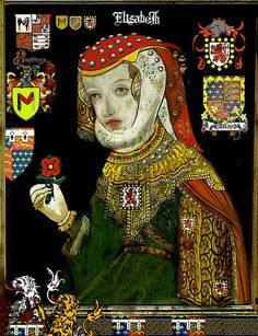 Isabel-Elizabeth Plantagenet, Countess of Essex, 1409–1484. Isabel was the oldest child of Richard, Earl of Cambridge and Anne Mortimer. Her husband Henry Bourchier, second Earl of Eu in Normandy, was created Viscount Bourchier by Henry VI and Lord Treasurer of England. William, the eldest of their ten children, married Anne, sister of Elizabeth Woodville. Remains of Beeleigh Abbey, first burial place of Isabel of York.