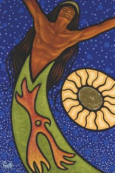 Beautiful Art of the Divine Masculine ~ Fire is Spirit ~ Aaron Paquette