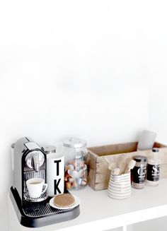 Make a Coffee Station  - HouseBeautiful.com