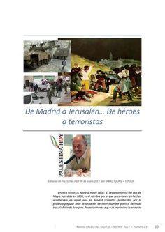 De Madrid a Jerusalén...  De héroes a terroristas