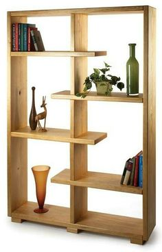Plywood Bookcase Two simple bookcase designs that are made with