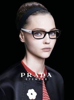 Prada eyewear-love these glasses and this look overall Prada Glasses Frames, Womens Glasses Frames, Eye Glasses, Prada Eyeglasses, Eyeglasses For Women, Designer Eyeglasses, Gel Eyeliner, Summer Sunglasses, Sunglasses Women