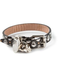 ALEXANDER MCQUEEN skull buckled bracelet on Vein - getvein.com Alexander Mcqueen, Skull, Belt, Bracelets, Accessories, Fashion, Belts, Moda, Fashion Styles