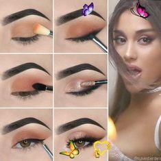 <br> Simple Makeup Looks, Simple Eye Makeup, Blue Eye Makeup, Makeup Eyeshadow, Yellow Eyeshadow, Contour Makeup, Makeup Eyebrows, Sleek Makeup, Eyeshadow Palette