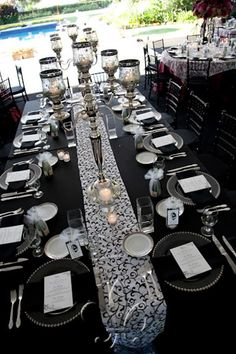 Black Tie Gala Ideas